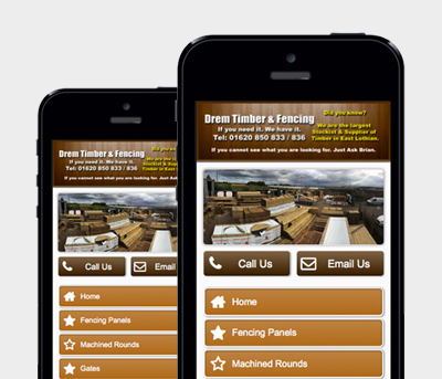 Drem Timber & Fencing Website Design