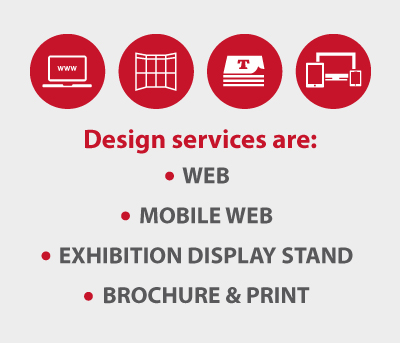 Rotis design websites, brochures, display stand and logos amonst other things.